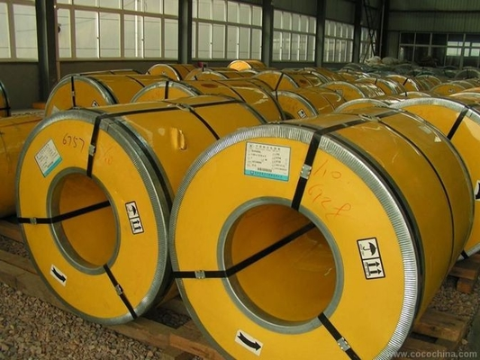 Çin 316 L 321 430 430 M soğuk haddelenmiş-paslanmaz çelik bobin 2B yüzeyi ile 1000 mm 1219 mm genişlikon sales